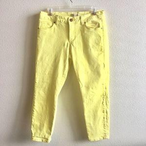 Cabi Limon Bree Capri Cropped Skinny Jeans #760